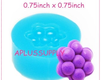 KYL034 Silicone Mold Candy Crush saga - Purple Candy 19mm - Cake Decoration Resin Air Dry Polymer Clay Chocolate Mold Candy Mold