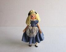 Vintage German BAPS Alice Doll Alice in Wonderland