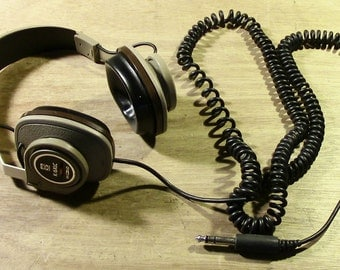 Awesome Vintage Koss K/6XLC Stereo Headphones With Tone Control - Sound Great!