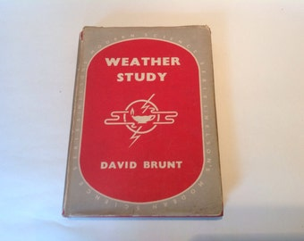 1940s Weather Study by David Brunt. Meteorology Guide. Books About The Weather. Meteorology Book. Weather Guide. Weather Study Book.