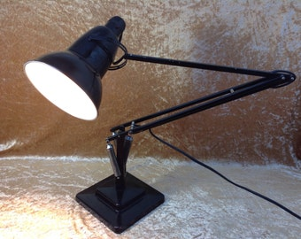 Original 1957 Herbert Terry 1227 Anglepoise Desk Lamp. Retro Desk Lamp. Rare Vintage Lighting. Terry Anglepoise. Mid Century Lighting Decor.