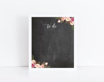 Dry Erase Calendar, Chore Chart, To Do List, Whiteboard with Frame, Chalkboard Dry Erase, Wet Erase, Office Decor