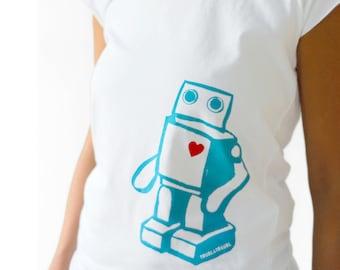 ROBOTEY . organic Fairtrade-shirt . girls