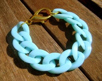 Pastel mint green bracelet