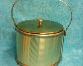 A Brass Ice Bucket