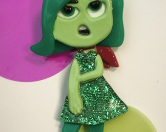 Disgust Brooch (Inside Out)