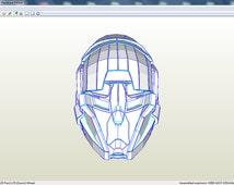 Destiny helmet. Template for RFQ archive