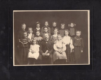 Antique Class Photo