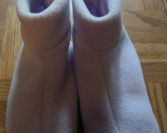 Children's Fleece Slippers~ Child's Shoe Size 3-5
