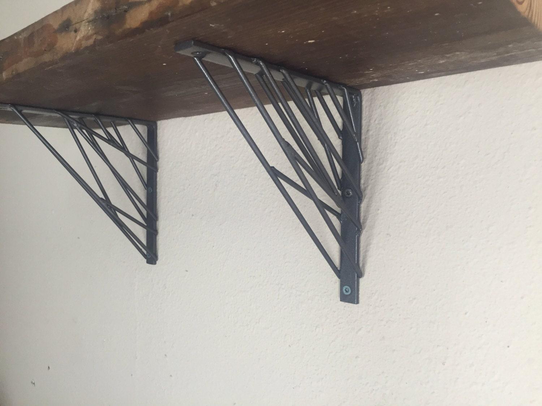 Industrial Modern shelf brackets Metal shelving brackets
