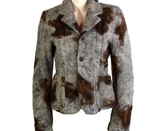 Vintage Comme des Garcons Felt Jacket AW 1996