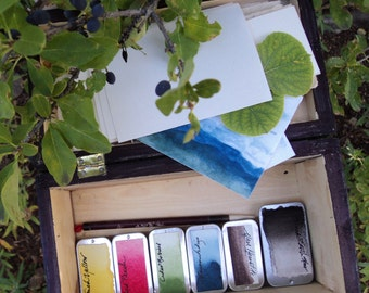 Botanical Watercolors Box Collection