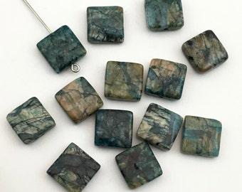 13 feldspath apatite stone beads/ 12mm #PP079