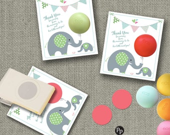 Baby Shower Party Favors for eos lip balm | Thank You gift tags  | mommy-to-be-little sweet pea! |Favor Tags| INSTANT DOWNLOAD| bbe BAC-EOS1