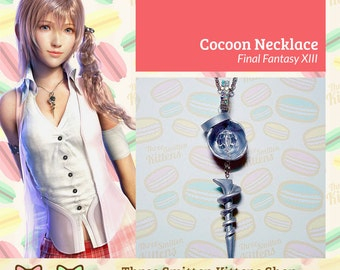 Final Fantasy XIII Cocoon Necklace