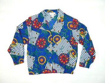 Vintage Abstract Nautical Jacket""