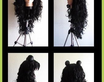 Cosplay wig: Queen Nehellenia (Sailor Moon)