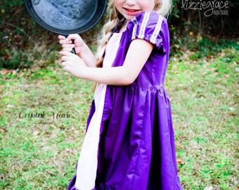 Rapunzel Dress, Princess Dress, Disney Dress, Disney Princess, Princess Costume, Disney Costume, Tangled Rapunzel Dress, Halloween Costume