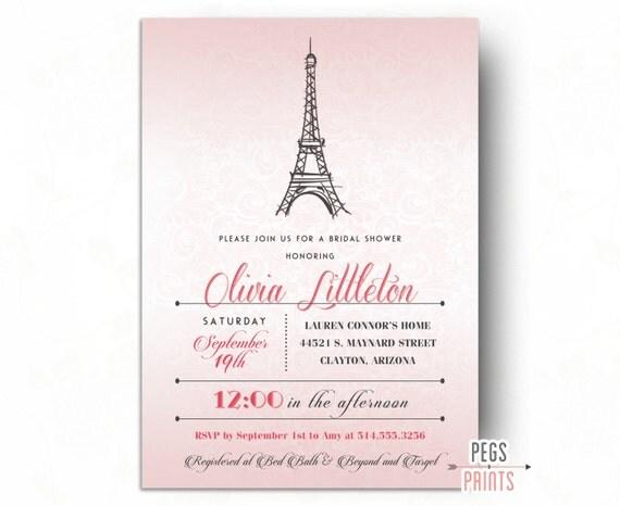 Paris bridal shower invitation parisian bridal shower printable il570xn filmwisefo