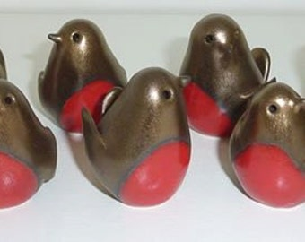 Handmade Ceramic Mini Robin