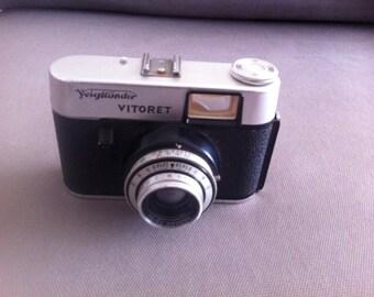 Camera film Vintage Voigtlander Vitoret Vaskar 2.8/50