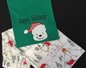 Santa Bear Pajamas