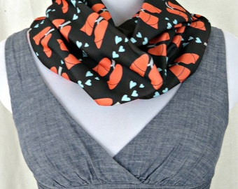 Lung Heart Infinity Scarf