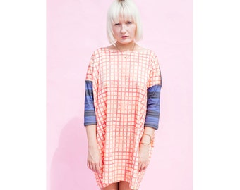 The Poppy Picnic Artist Patchwork Tee Dress