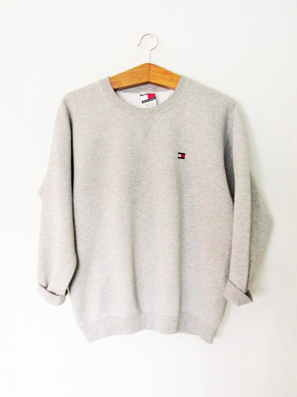 vintage 1990s tommy hilfiger sweatshirt. Black Bedroom Furniture Sets. Home Design Ideas