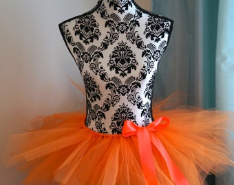 Halloween Tutu - Pumpkin Tutu - Orange Tutu - Adult Tutu