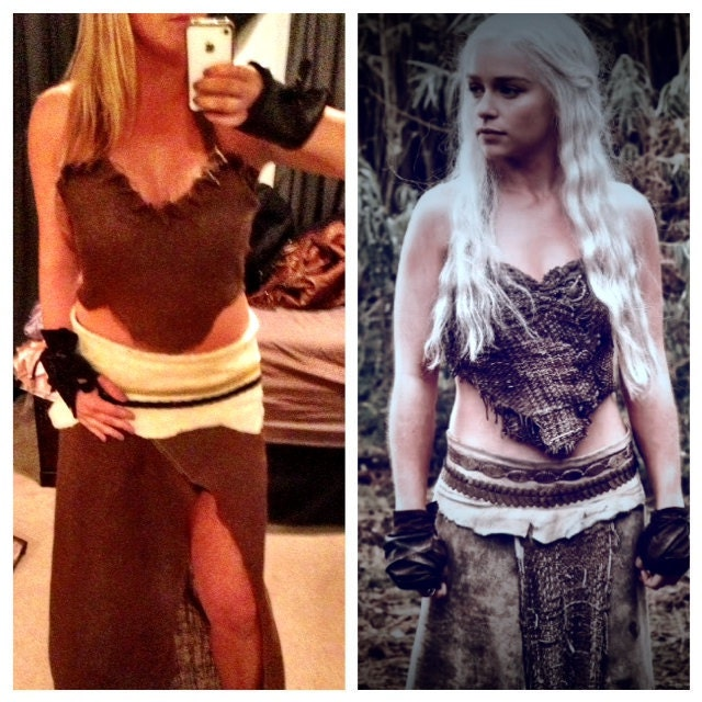 Game of Thrones Khaleesi Dothraki Halloween Costume
