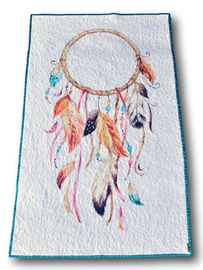 Dreamcatcher Baby Quilt Boho Baby Quilt by ...