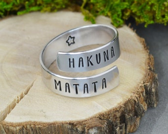 Hakuna Matata Wrap Ring