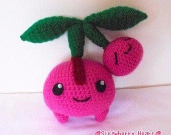 Crochet PATTERN Pokemon Cherubi amigurumi doll