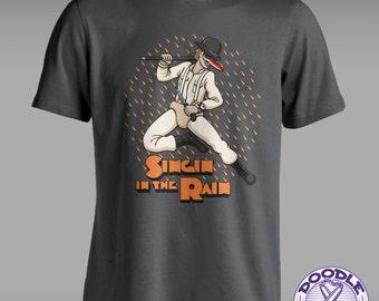 Singin' in the Rain - Clockwork Orange Themed T-shirt