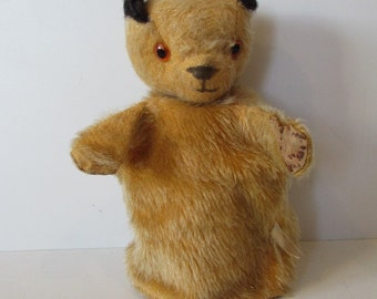 Old Rare Vintage Chad Valley Sooty Glove Puppet  - Made In England.