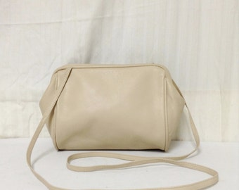 Amanda Smith,tan Leather Purse,bag, Tan, Shoulder Bag