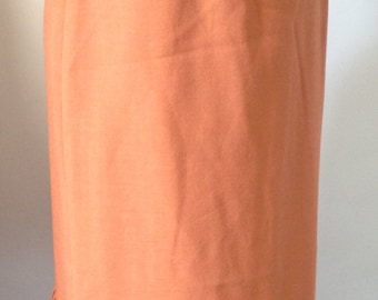 Skirt vintage, salmon, French brand of the year 70