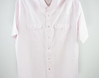 Vintage Western Shirt   Wrangler Pearl Snap Top   Extra Large