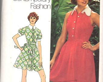 Simplicity 5617 Dress in Two Lengths Young Contemporary Fashion Sewing Pattern New Uncut Bust 36
