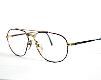 Carrera Eyeglasses 5469 Camouflage Frame - 1980s - New Old Stock Never Worn NOS