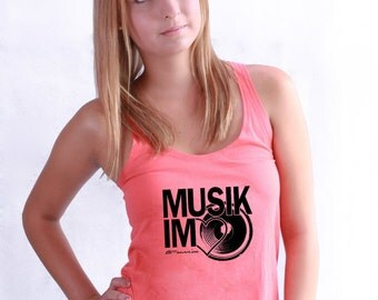 Music in the HEART - Fair Wear Womens TUNIC VEST