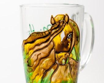 Horse Decor Coffee Mug Cowboy Gift Western Decor Cowgirl Mug Personalized Gift Mug for Him