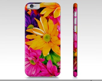 Floral iPhone 6 Case, Flower Art iPhone 6 Case, Fine Art iPhone 6 Case, Vibrant Floral Art iPhone Cover, Nature Art Phone Case
