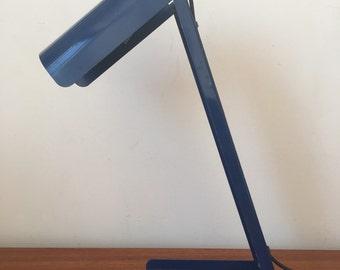 Vintage Kovacs Blue Desk Lamp