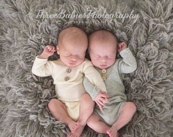 Softest Long Sleeve Onesies (more color options), Newborn Props, Boy Props, Girl Props