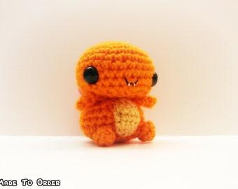 Crochet Charmander Inspired Pokemon ChibiMini