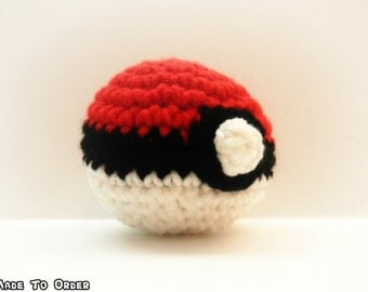 Crochet PokeBall, Greatball, or Ultraball