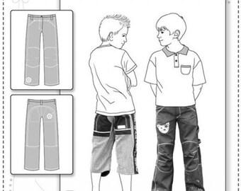 "Pattern trouser kids ""Pitt"""
