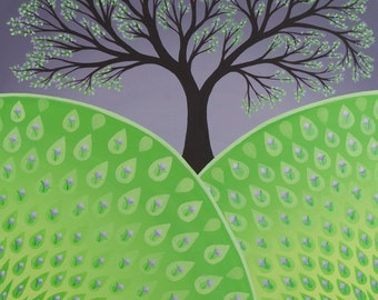 Spring Tree, Seasons Series, fine art print